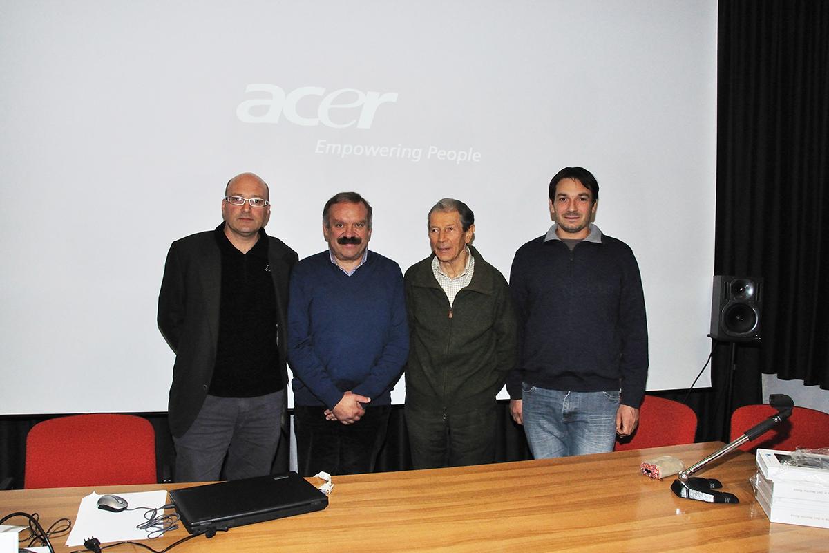 Lucio Bordignon, Orazio Pandolfo, Mario SOster e Simone Lonati. (Foto: Ruben Andreotti)