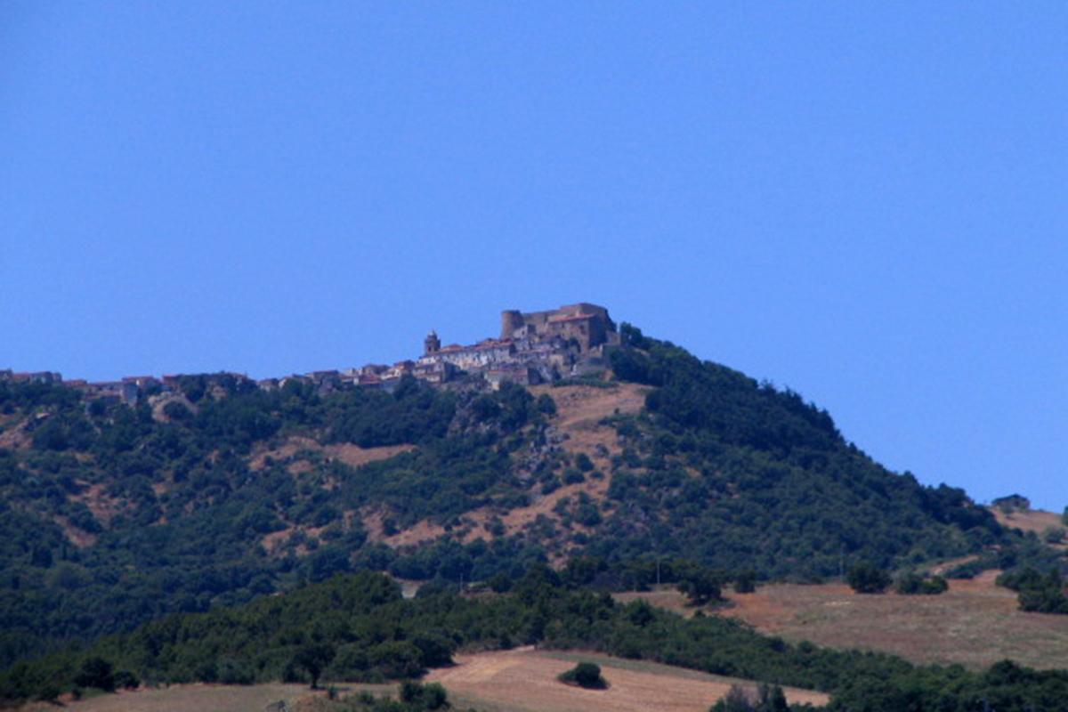Il castello di Monteverde.